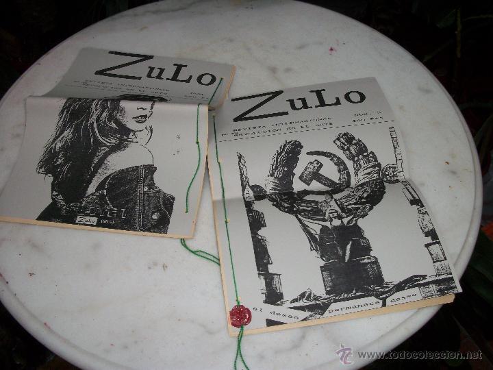 ZULO. (Coleccionismo - Revistas y Periódicos Modernos (a partir de 1.940) - Revista Tiempo)