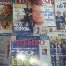 Coleccionismo de Revista Tiempo: LOTE 34 REVISTAS TIEMPO ENTRE 1983-2003. Lote 45887737