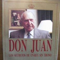 Coleccionismo de Revista Tiempo: DON JUAN. LOS SECRETOS DE UN REY SIN TRONO. (EL FIN DE UNA AGONÍA PERSONAL Y POLÍTICA). 100 PÁGS. . Lote 46625724