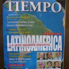 Coleccionismo de Revista Tiempo: TIEMPO. ESPECIAL. LATINOAMERICA, LA GRAN APUESTA ESPAÑOLA. 26 DE JULIO DE 1999.172 PÁGS.. Lote 46625781