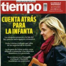 Coleccionismo de Revista Tiempo: REVISTA TIEMPO [NÚMERO 1.636][DEL 31 DE ENERO AL 6 DE FEBRERO DE 2014]. Lote 46702355