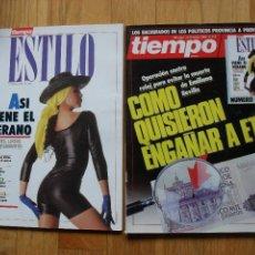 Coleccionismo de Revista Tiempo: REVISTA TIEMPO , MAYO 1988, NUMERO 313, CON SUPLEMENTO. Lote 47064243