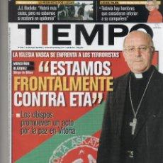 Coleccionismo de Revista Tiempo: REVISTA TIEMPO. Lote 47322280