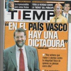 Coleccionismo de Revista Tiempo: REVISTA TIEMPO. Lote 47322309