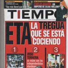 Coleccionismo de Revista Tiempo: REVISTA TIEMPO. Lote 47322342
