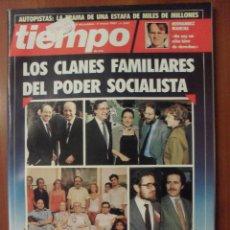 Coleccionismo de Revista Tiempo: REVISTA TIEMPO, NUMERO 242, DICIEMBRE 1987. Lote 48289488