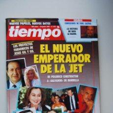 Coleccionismo de Revista Tiempo: REVISTA TIEMPO.NUM.475-AÑO 1991: LOS PROYECTOS DE JESUS GIL-FIDEL CASTRO-MATANZA DE VIC. Lote 48671938