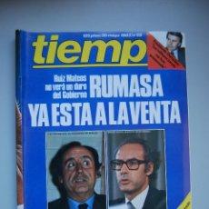 Collectionnisme de Magazine Tiempo: REVISTA TIEMPO.NUM. 55 -AÑO 1983 : RUMASA A LA VENTA- VAN A POR FRAGA-GUINEA, GOLPE DE ESTADO. Lote 48695537