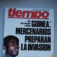 Collectionnisme de Magazine Tiempo: REVISTA TIEMPO.NUM. 56 -AÑO 1983 : PLAN PARA DERROCAR A OBIANG-BANCO DE LEVANTE-MISILES RUSOS. Lote 48695560