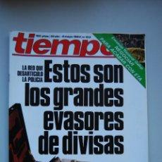 Coleccionismo de Revista Tiempo: REVISTA TIEMPO.NUM. 103 -AÑO 1984 : GRANDES EVASORES DE DIVISAS-RUMASA PIERDE AL DIA 300 MILLONES. Lote 191883067