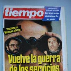 Coleccionismo de Revista Tiempo: REVISTA TIEMPO.NUM. 128 -AÑO 1984 : GUERRA DE LOS SERVICIOS SECRETOS-FELIPE-OTAN-SEPARATISMO CATALAN. Lote 48698714
