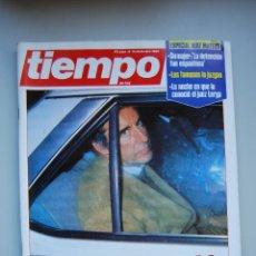 Coleccionismo de Revista Tiempo: REVISTA TIEMPO.NUM. 187 -AÑO 1985 : ESPECIAL RUIZ MATEOS- HABLA DESDE LA CARCEL-. Lote 48699186