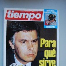 Coleccionismo de Revista Tiempo: REVISTA TIEMPO.NUM. 196 -AÑO 1986 : PARA QUE SIRVE LA OTAN-SUPLEMENTO ESPECIAL REFERENDUM. Lote 48699282