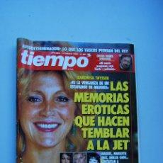 Colecionismo da Revista Tiempo: REVISTA TIEMPO.NUM. 407-AÑO 1990 : BARONESA THYSSEN.CHICHO IBAÑEZ SERRADOR-ADOLFO GUERRA. Lote 48710193
