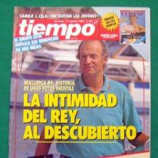 Coleccionismo de Revista Tiempo: REVISTA TIEMPO DE HOY . NUMERO 381 . 21 AGOSTO 1989 . MALLORCA 89 : LA INTIMIDAD DEL REY. Lote 107100250