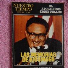 Coleccionismo de Revista Tiempo: NUESTRO TIEMPO 307 NT ENERO 1980 REVISTA MENSUAL DE CUESTIONES ACTUALES. Lote 50219437