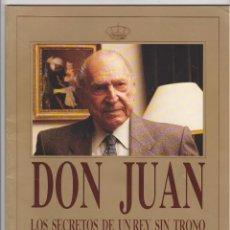 Coleccionismo de Revista Tiempo: TIEMPO. DON JUAN. LOS SECRETOS DE UN REY SIN TRONO.. Lote 50899079