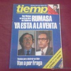 Coleccionismo de Revista Tiempo: REVISTA TIEMPO, NUM. 55, AÑO 1983. Lote 51623238