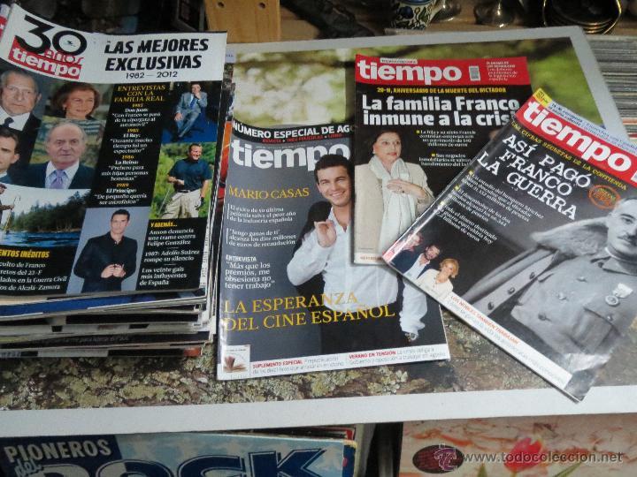 47 REVISTAS REVISTA TIEMPO.AÑO 2012. (Coleccionismo - Revistas y Periódicos Modernos (a partir de 1.940) - Revista Tiempo)