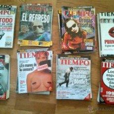 Coleccionismo de Revista Tiempo: COLECCIÓN 55 NÚMEROS REVISTA TIEMPO (Nº ENTRE 820 Y 963). Lote 52975763