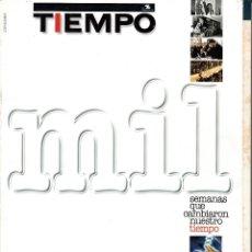 Coleccionismo de Revista Tiempo: MIL SEMANAS QUE CAMBIARON NUESTRO TIEMPO. 1982-2001.. Lote 54120634