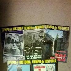 Coleccionismo de Revista Tiempo: TIEMPO DE HISTORIA - LOTE 5 REVISTAS - Nº 3/4/5/6 Y 7 - AÑO 1975. Lote 54330114