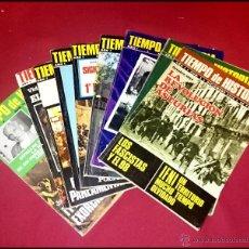 Coleccionismo de Revista Tiempo: LOTE DE 9 REVISTAS TIEMPO DE HISTORIA - NÚMEROS SEGÚN FOTO . Lote 54358184
