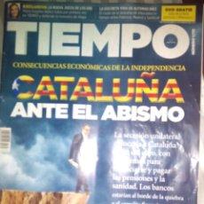Coleccionismo de Revista Tiempo: REVISTA TIEMPO NÚMERO 1715. CATALUÑA ANTE EL ABISMO. 2015. Lote 54794283