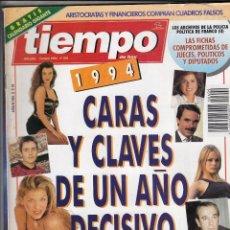 Coleccionismo de Revista Tiempo: REVISTA TIEMPO Nº 609 AÑO 1994. FRANCISCO RIVERA. ANJELICA HUSTON. JUAN MANUEL SERRAT. RODRIGO RATO.. Lote 54950120