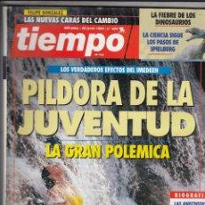 Coleccionismo de Revista Tiempo: REVISTA TIEMPO Nº 582 AÑO 1993. JUAN PABLO II. RAMON JAUREGUI. DEMI ROORE. JOSELITO. TITA CERVERA.. Lote 54950914