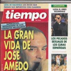 REVISTA TIEMPO Nº 670 AÑO 1995. JERONIMO SAAVEDRA. AINHOA ARTERA. ANGELA MOLINA. JOSE AMEDO.