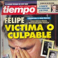 Coleccionismo de Revista Tiempo: REVISTA TIEMPO Nº 570 AÑO 1993. FELIPE GONZALEZ. IMANOL ARIAS. EMMA THOMSON.IMANOL ARIAS. JM. CUEVAS. Lote 55009381