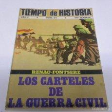 Coleccionismo de Revista Tiempo: TIEMPO DE HISTORIA-LOS CARTELES DE LA GUERRA CIVIL. Lote 55122697
