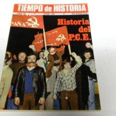 Coleccionismo de Revista Tiempo: TIEMPO DE HISTORIA-HISTORIA DEL PCE. Lote 55122773