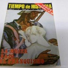 Coleccionismo de Revista Tiempo: TIEMPO DE HISTORIA-LA MUJER BAJO EL FRANQUISMO. Lote 55122813