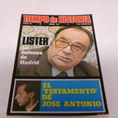 Coleccionismo de Revista Tiempo: TIEMPO DE HISTORIA-EL TESTAMENTO DE JOSE ANTONIO. Lote 55122831