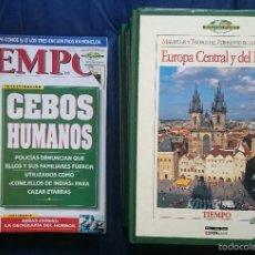 Coleccionismo de Revista Tiempo: TIEMPO: 15 TOMOS MARAVILLAS DEL PATRIMONIO DE LA HUMANIDAD + 11 REVISTAS OCTUBRE 1995 A ENERO 1996. Lote 56160129