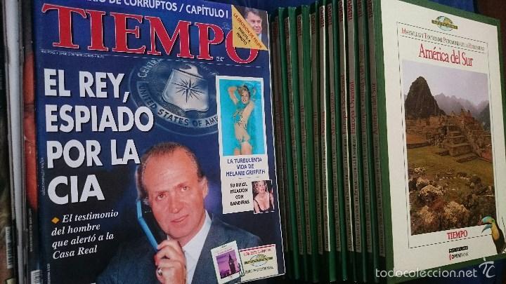Coleccionismo de Revista Tiempo: Tiempo: 15 Tomos Maravillas del Patrimonio de la Humanidad + 11 revistas octubre 1995 a enero 1996 - Foto 3 - 56160129