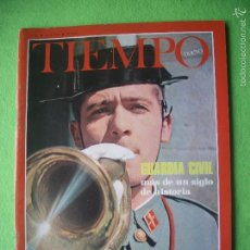 Coleccionismo de Revista Tiempo: REVISTA TIEMPO NUEVO Nº 47 (OCTUBRE 1967) GUARDIA CIVIL: MÁS DE UN SIGLO DE HISTORIA. Lote 56286123