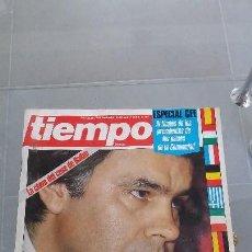 Coleccionismo de Revista Tiempo: REVISTA TIEMPO DE HOY AÑO 1986 N° 191 PORTADA FELIPE. Lote 57873735