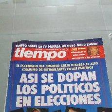 Coleccionismo de Revista Tiempo: REVISTA TIEMPO DE HOY AÑO 1989 N° 384. Lote 57873859