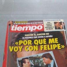 Coleccionismo de Revista Tiempo: REVISTA TIEMPO DE HOY AÑO 1993 N° 575 PORTADA GARZON Y FELIPE. Lote 57873968