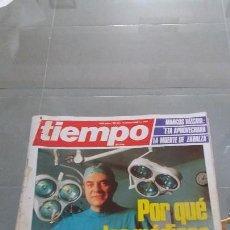 Coleccionismo de Revista Tiempo: REVISTA TIEMPO DE HOY AÑO 1985 N° 190. Lote 57874163