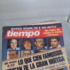 Coleccionismo de Revista Tiempo: REVISTA TIEMPO DE HOY AÑO 1988 N° 344. Lote 57873939