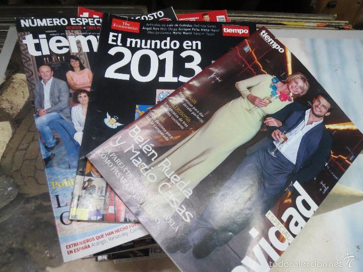 50 REVISTAS AÑO 2013 DE LA REVISTA TIEMPO. (Coleccionismo - Revistas y Periódicos Modernos (a partir de 1.940) - Revista Tiempo)