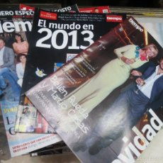 Coleccionismo de Revista Tiempo: 50 REVISTAS AÑO 2013 DE LA REVISTA TIEMPO.. Lote 58079883
