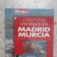Coleccionismo de Revista Tiempo: VENDO REVISTA ECICLOPEDIA AUDIOVISUAL GUÍA TURISTICA TIEMPO DE MURCIA. Lote 58244855