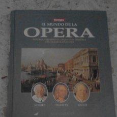 Coleccionismo de Revista Tiempo: GUIA-TURISMO MUSICA EL MUNDO LA ÓPERA REVISTA TIEMPO 3 EL GRAN BARROCO ALEMÁN FUNDACION TABACALERA. Lote 58487243