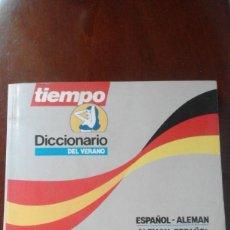 Coleccionismo de Revista Tiempo: ANTIGUO DICCIONARIO REVISTA TIEMPO VERANO ALEMAN ESPAÑOL - IBERIA. Lote 58561970