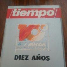 Coleccionismo de Revista Tiempo: TIEMPO DIEZ AÑOS 1982-1992. Lote 58640470